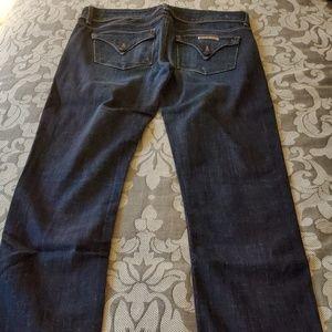 Hudson dark blue skinny jeans size 28